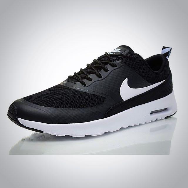 🔻降價 [保留中]Nike Air Max Thea 黑白(女25cm)
