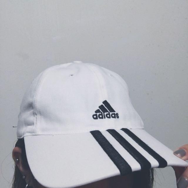 Aiddias 白色復古棒球帽
