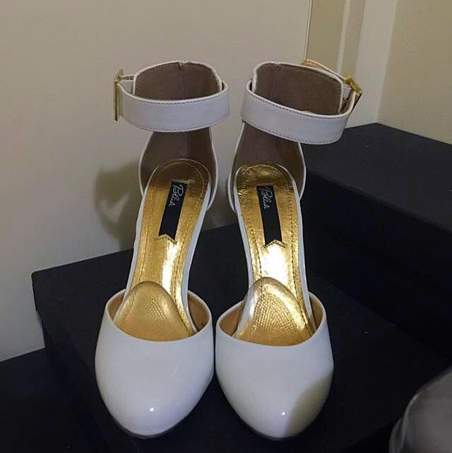 💋Size 36 Blink Ankle Strap Heels (ASOS)