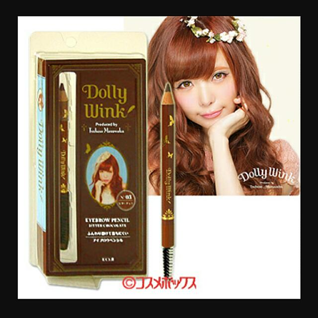 Dolly Wink Eyebrow Pencil (Bitter Chocolate), Health & Beauty on Carousell