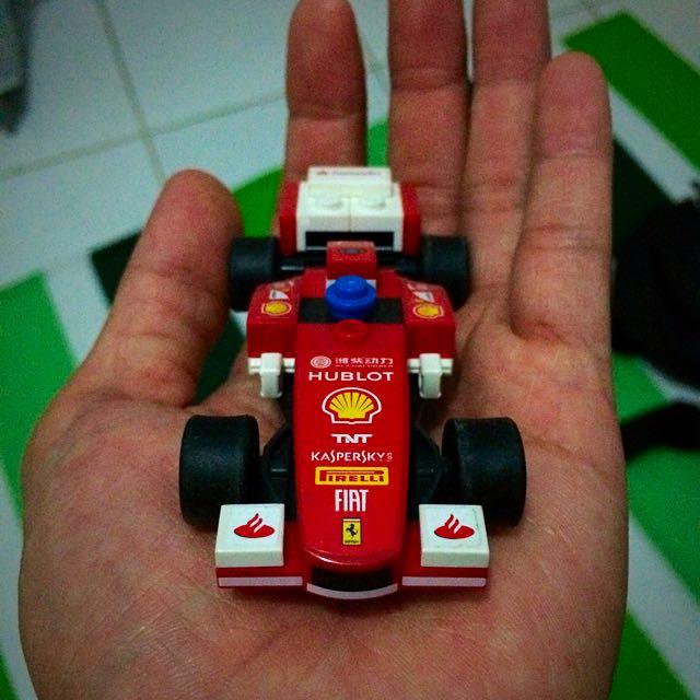 Ferrari Lego From Shell