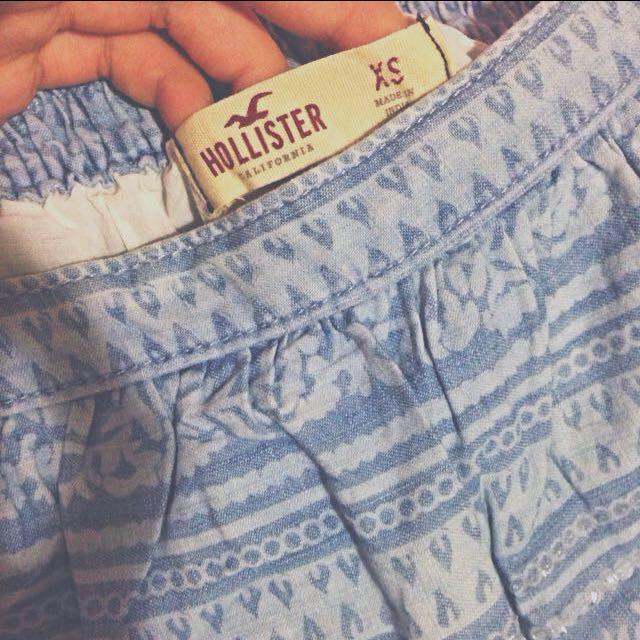 (含運)Hollister印花亮片窄短裙 xs號 A&F Gap AE Forever21 Urban Outfitters Zara Bershka Pull&bear
