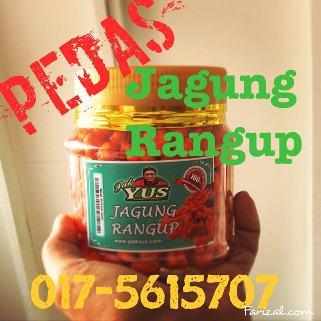 Jagung Rangup - Pedas