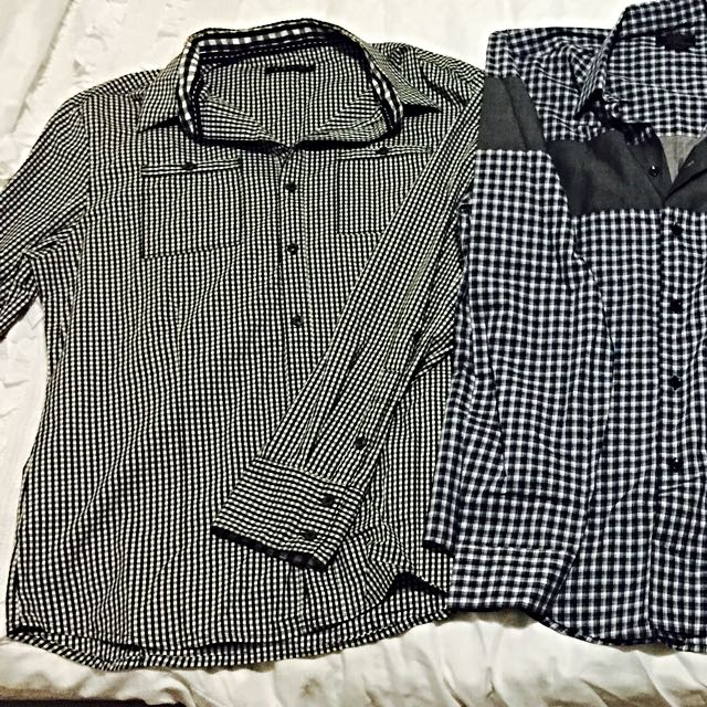 Nique Brand Men's/Teenage Boys Shirt (size L - Slim Fit)
