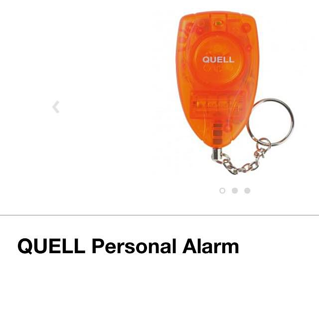 🍒QUELL Personal Alarm Keychain