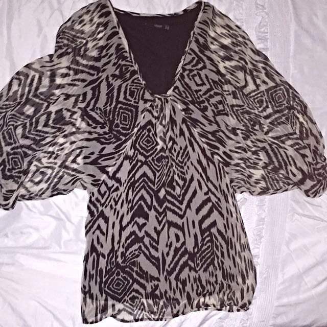Seduce Size 8 Batwing Dress/Long Top