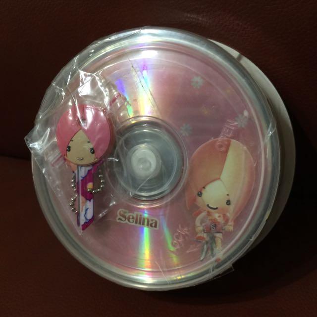 SHE之Selina空白光碟片 25枚