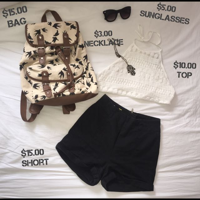 Summer Clothing Set (can buy separately)