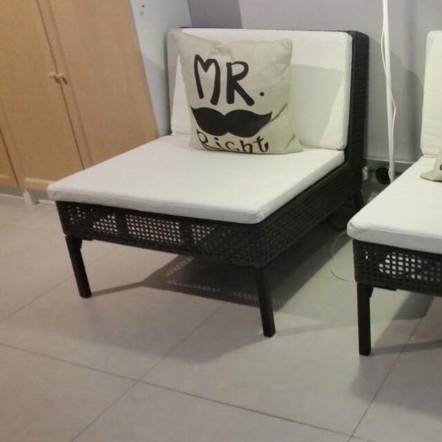 Used Ikea Ammero Gazebo Bench Chair 2