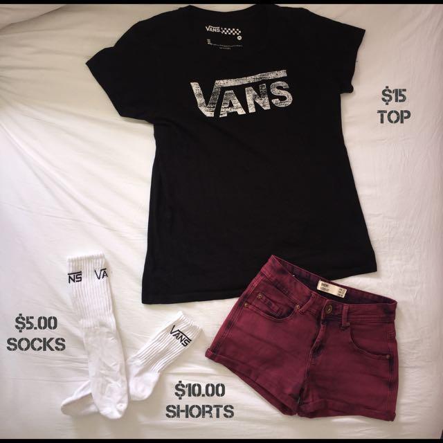 Vans Clothing