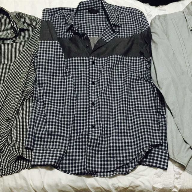 Zara Man Slim Fit Shirt (size M)