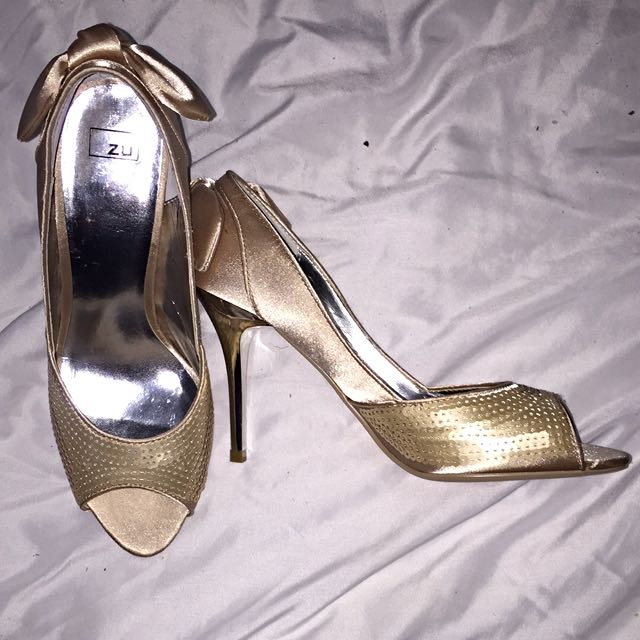 ZU Brand Size 37 Heels Brand New Never worn With Box
