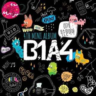 B1A4 4mini Album 이게무슨일이야