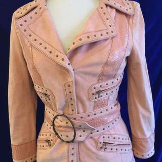 Vintage Suede Outfit Just Cavalli