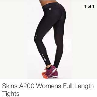 Skins A200 Womens Full Length Tights
