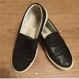 Top Shop 懶人鞋 黑色 38