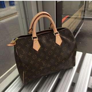Louis Vuitton Speedy 30 Monogram 100% Authentic Or Money Back