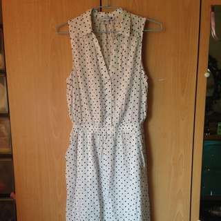 Cotton On Polkadot Fishtail Dress