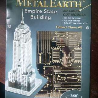 Metal Earth:  Empire State Building & Eiffel Tower Bundle