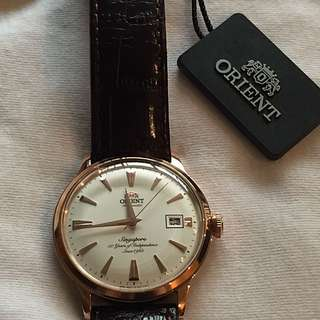 ORIENT SG50 WATCH RG  |Brand new| With Tag