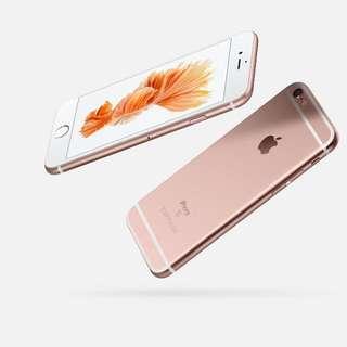 全新 iphone 6s plus 64G 玫瑰金