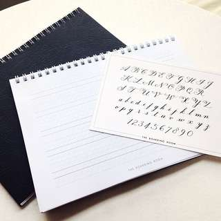 Calligraphy Practice Pad - A5 Size