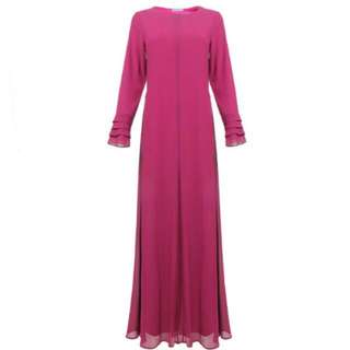 BN Chiffon Jubah Dress