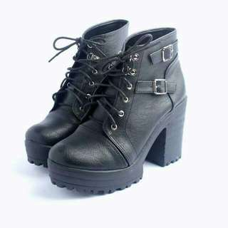【降】含運!百搭黑靴