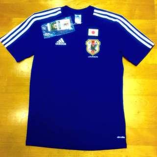 ADIDAS 日本藍魔鬼足球衣