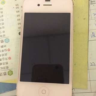 64g!!!iphone 4s 白 因為買6所以割讓 8成新