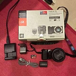 2⃣手 Sony NEX-5 類單眼相機