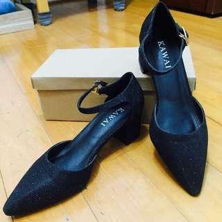 瑪莉珍 黑色 跟鞋