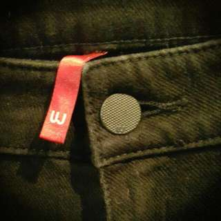 😈UNIQLO黑彈性長褲