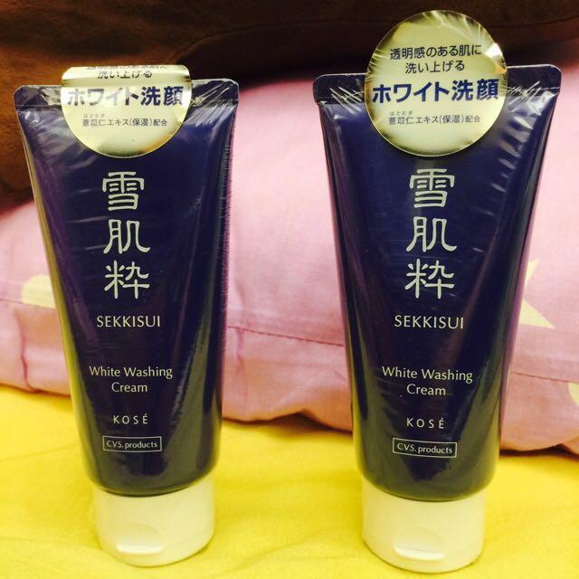 日本7-11限定 雪肌粹洗面乳 買多更便宜 現貨3條