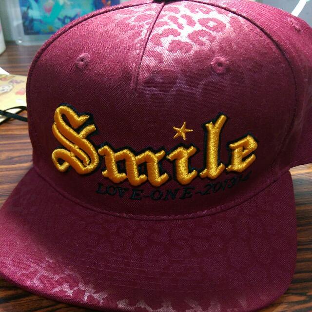 豹紋壓紋棒球帽