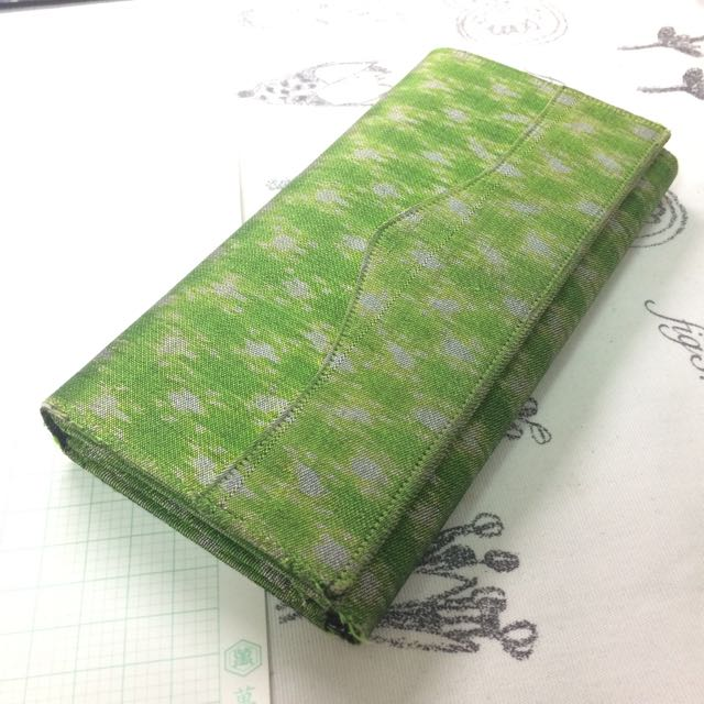 綠綠手工皮夾