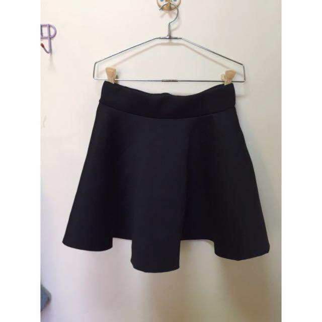 待匯款)太空棉素黑裙💀