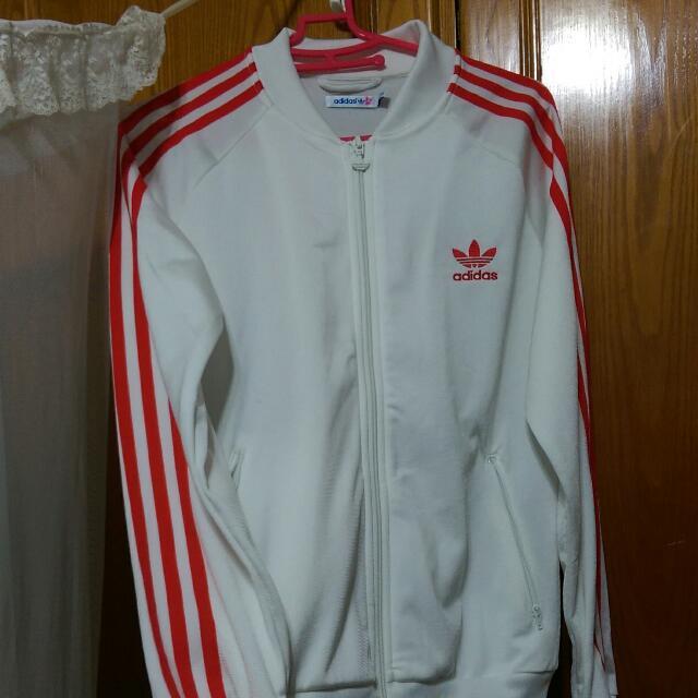 正版 愛迪達 Adidas 大logo外套 全新