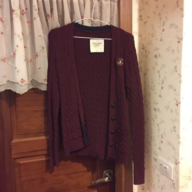 Abercrombie & Fitch針織外套