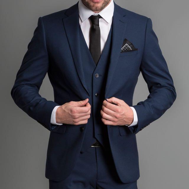 Blue Suit / Groom Suit / Party Suit / Reception Suit / Evening ...