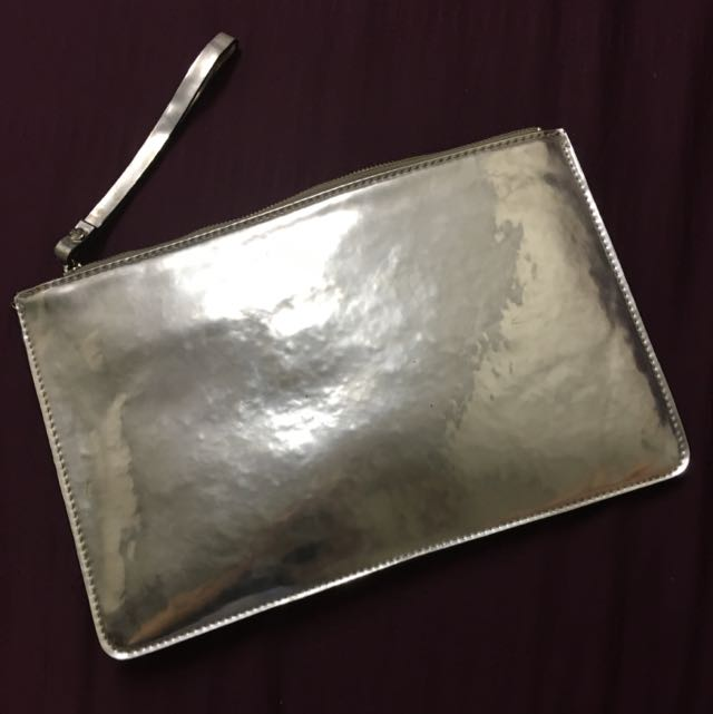 Country Road Silver Clutch