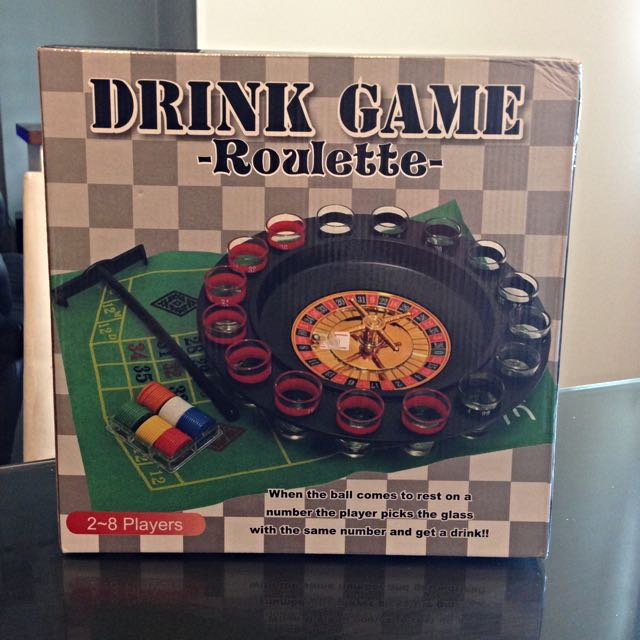 Drink Game Roulette