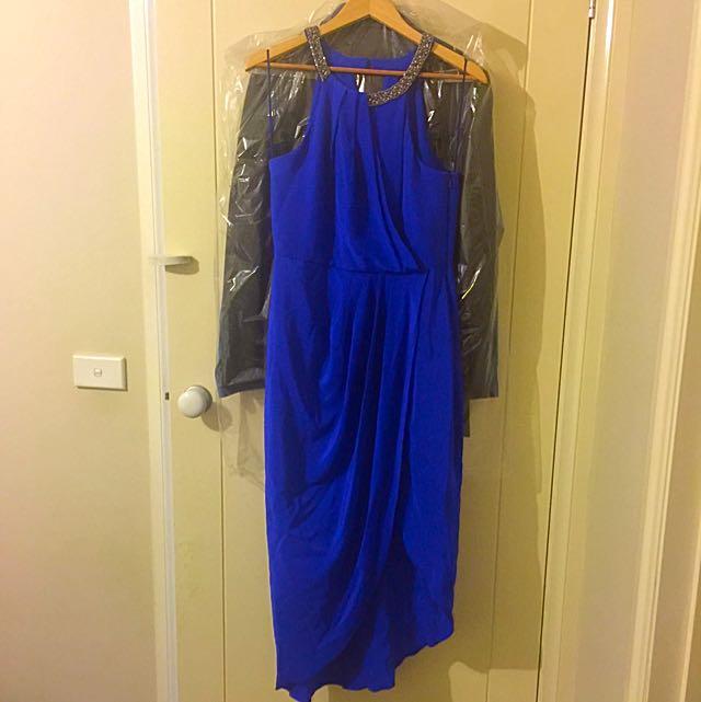 "Forever new ""Brandy Embellished Detail Wrap Dress"""