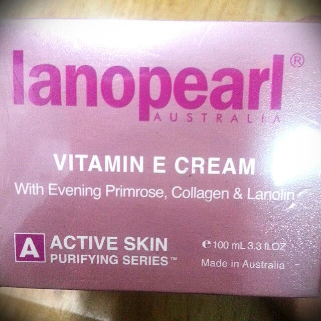 lanopearl朗沛柔 膠原蛋白維他命E綿羊霜