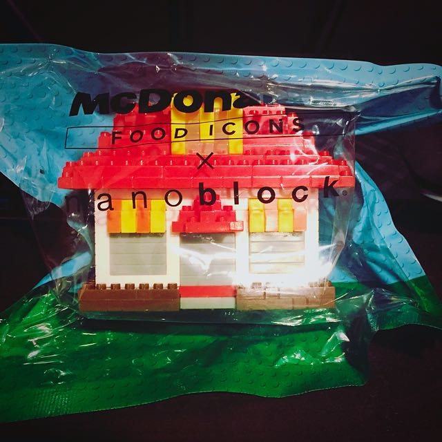 McDonald's X Nanoblock - Restaurant