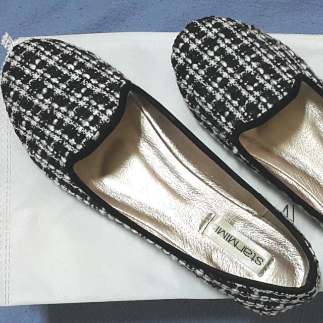 全新 Starmimi 毛呢娃娃鞋