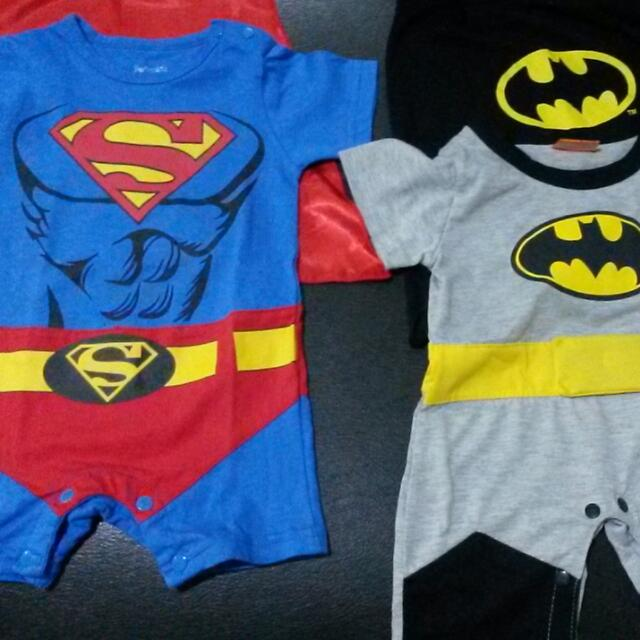 Superman / Batman Baby Costumes