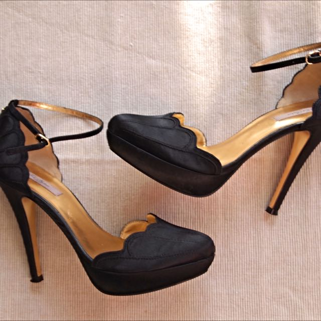 Ted Baker Black Stilettos