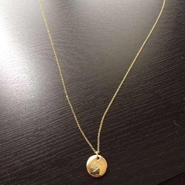 d3d587402 Tiffany & Co Gold Alphabet
