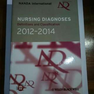 NANDA Diagnoses Classifications And Definitions 2012-2014 Nursing